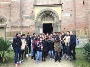 Le classi terze del Cocito all'abbazia di Vezzolano