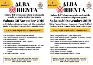 SALONE ALBA ORIENTA 30 NOVEMBRE