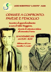 Odissee a confronto: il professor Valter Boggione racconta Pavese e Fenoglio